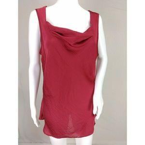 Spense sleeveless cowl neck blouse